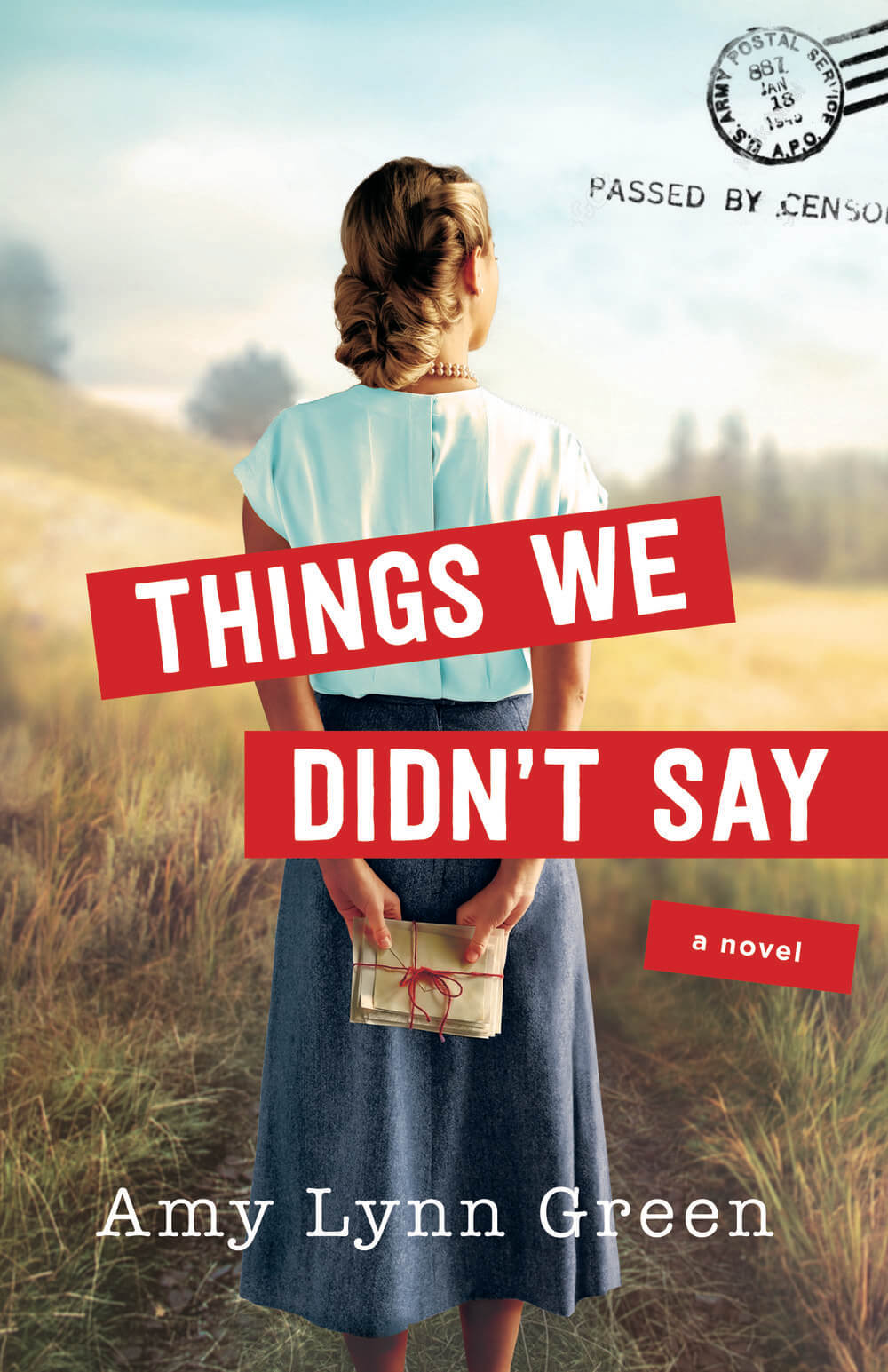 Cover for Things We Didn't Say